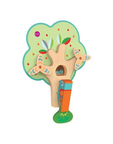 Zabawka Zapracowany Pan Dzięcioł VertiPlay, ORIBEL