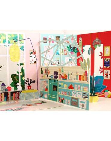 Mon Petit Art - Domek dla lalek ' Izumi '