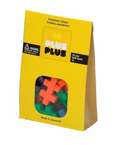 Plus - Plus - Plus-Plus, Midi Basic - 20 szt.