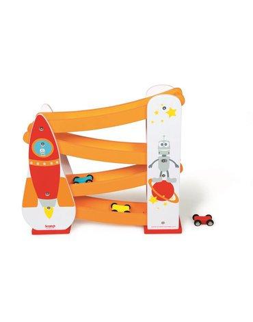 Scratch, Rakieta Kosmiczna-Zjeżdżalnia dla samochodów
