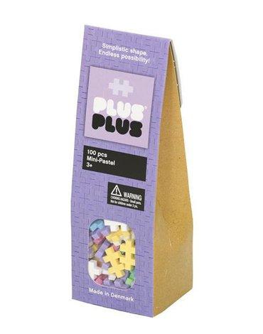 Plus - Plus - Plus-Plus, Mini Pastel - 100 szt.