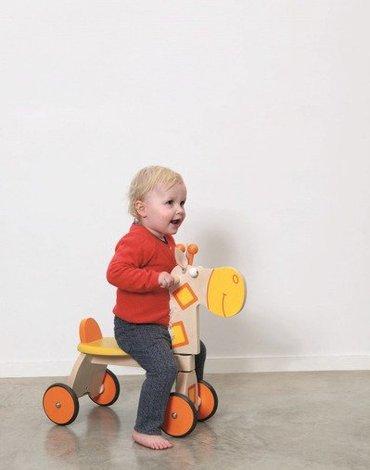 Scratch, Jeździk 4 kołowy ' Żyrafa '