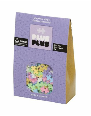 Plus - Plus - Plus-Plus, Mini Pastel - 300 szt.