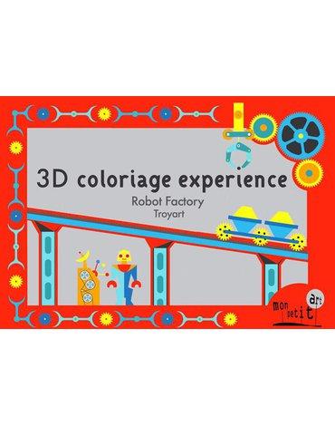 Mon Petit Art - Teatrzyk 3D ' Roboty '