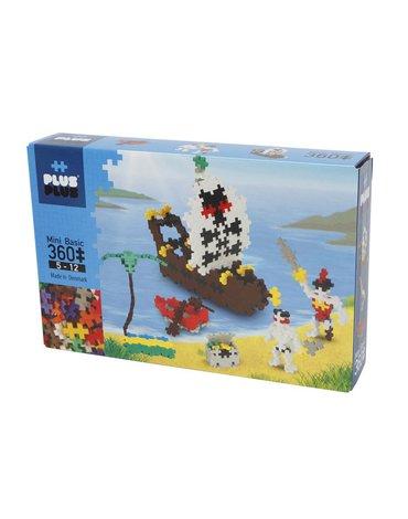 Plus - Plus - Plus-Plus, Mini Basic - 360 szt. - Piraci