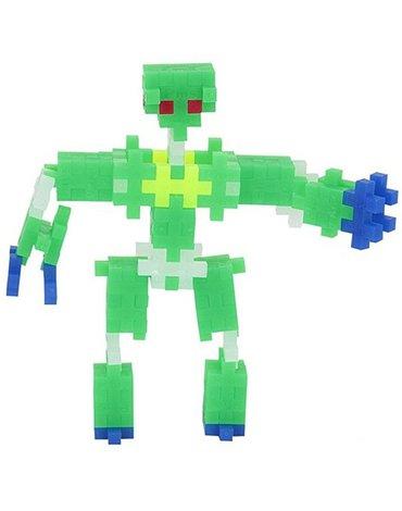 Plus - Plus - Plus-Plus, Mini Neon - 170 szt. - Roboty