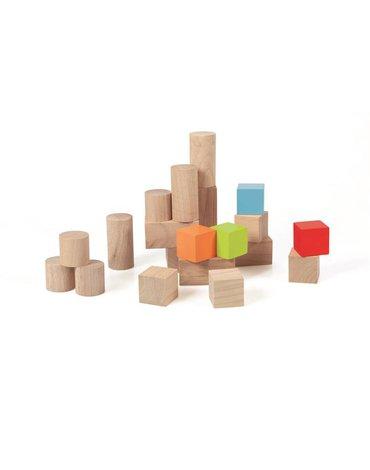 Scratch - Klocki drewniane do Pchacza