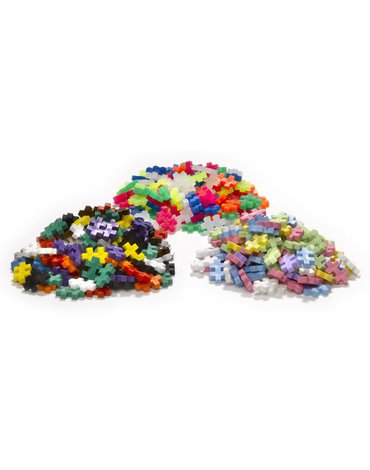 Plus - Plus - Plus-Plus, Mini Mix ( Basic, Neon, Pastel) - 6000 szt - Edukacja