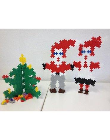 Plus - Plus - Plus-Plus, Mini Basic - 360 szt. - Święty Mikołaj