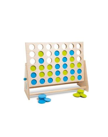 BS Toys, Gra 4 w Rzędzie Niebiesko-Zielone XL