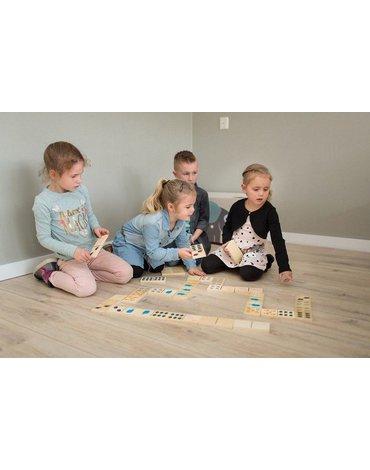 BS Toys, Domino drewniane Zwierzątka