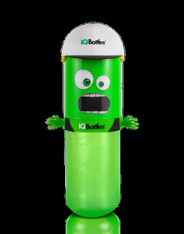 IQBottles, Bidon-butelka 2w1 Green/White cap