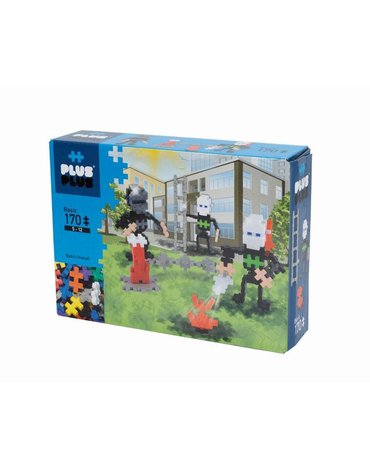 Plus - Plus - Plus-Plus, Mini Basic - 170 szt. - Strażacy