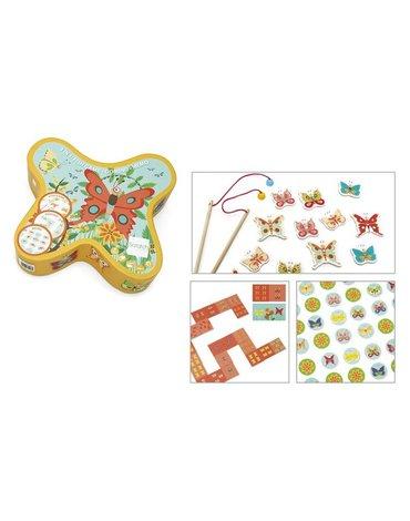 Scratch, Gra Łowimy Motylki 3w1 - łowienie/memo/domino