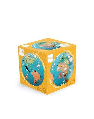 Scratch, Piłka dmuchana Mapa Świata 40 cm