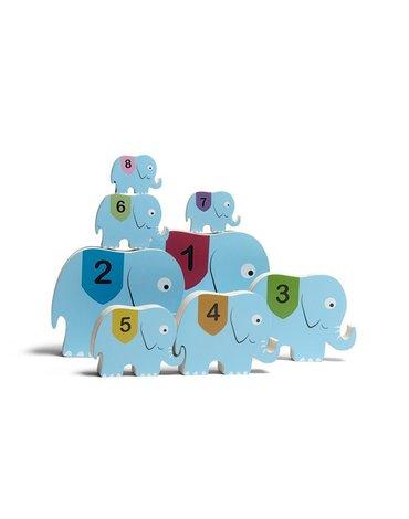 BS Toys, Piramida drewniane słonie