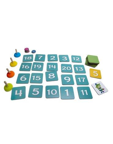 BS Toys, gra logiczna matematyczna Modny Krokodyl