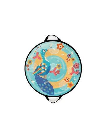 Scratch, Rzutki magnetyczne z dyskami pastelowy Paw