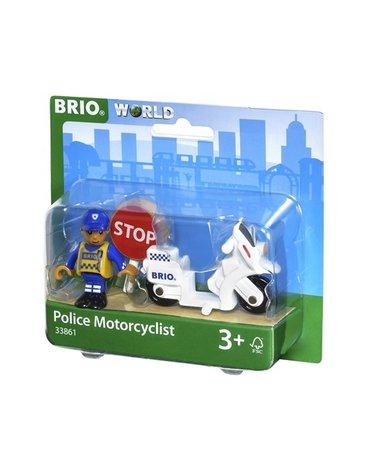 BRIO World Motocykl Policyjny