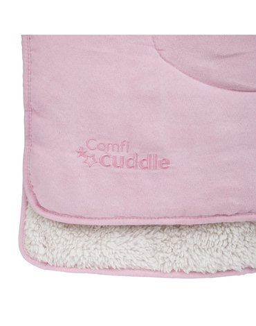 CuddleCo - Kocyk dziecięcy Comfi-Cuddle - różowy