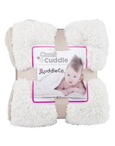 CuddleCo - Kocyk dziecięcy Comfi-Cuddle XL - beżowy