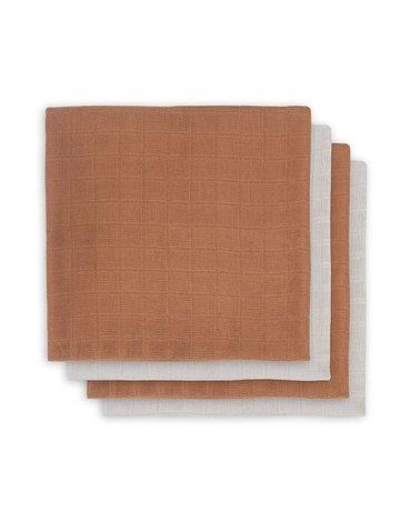 Jollein - Baby & Kids - Jollein - 4 pieluszki bambusowe 70 x 70 cm Caramel