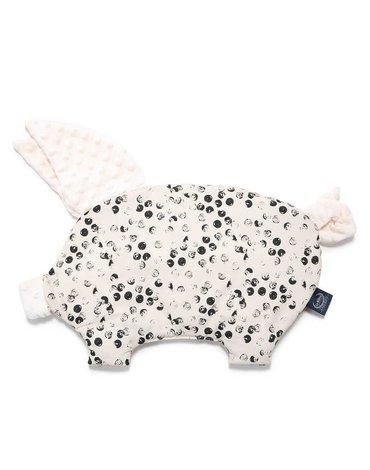 LA MILLOU - PODUSIA SLEEPY PIG - WILD DOTS - ECRU