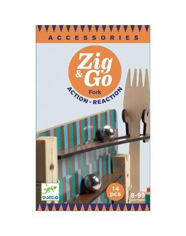 Djeco - Zestaw Zig & Go-14 elementów  DJ05646