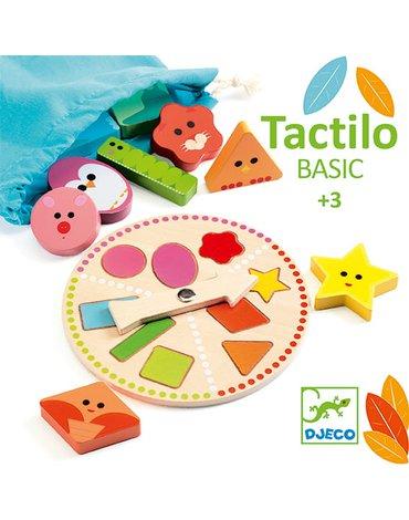 Djeco - Drewniana gra lotto TACTILO BASIC DJ06214