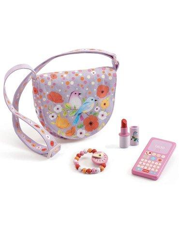 Djeco - Różowa torebka z akcesoriami DJ06686