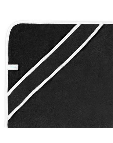 BABYONO - 343/02 Okrycie kąpielowe bambusowe - ręcznik z kapturkiem NATURAL BAMBOO 85x85cm