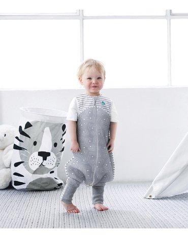 Piżama Love To Dream - 24-36 miesięcy - szara - ETAP 3 - 0.2 TOG Lite
