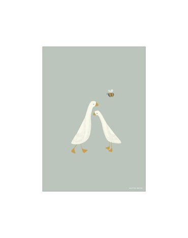 Little Dutch Plakat dwustronny A3- Little Goose PW10730700