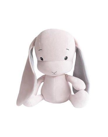 Effiki - Królik Effik M - różowy, szare uszy