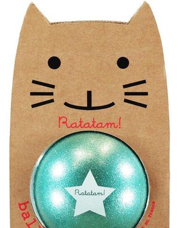 Ratatam - Piłka mała 15 cm Glitter green
