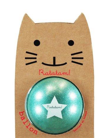 Ratatam - Piłka duża 22 cm Glitter green