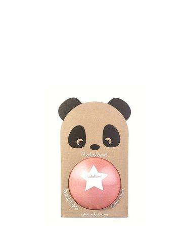 Ratatam - Piłka mała 12 cm Panda pink