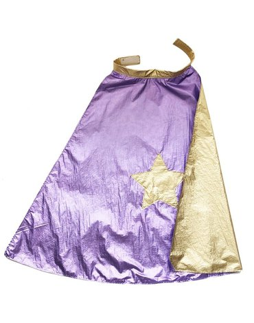 Ratatam - Peleryna wróżki dwustronna Purple/Gold