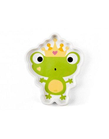 Lulabi - Talerzyk dla Dziecka, Żabka, 4m+