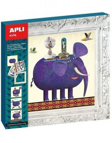 APLI Zestaw Mały Artysta-Słoń