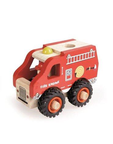 Egmont Toys® - EGMONT Drewniany wóz strażacki