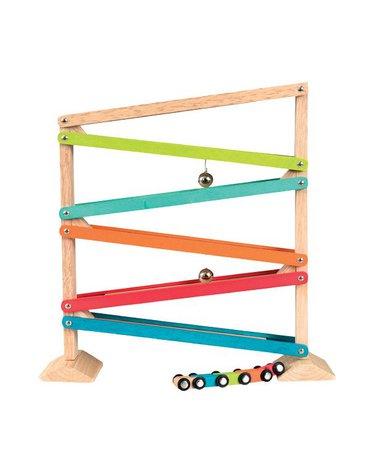 Drewniana zjeżdżalnia - 5 kolorów | Egmont Toys®