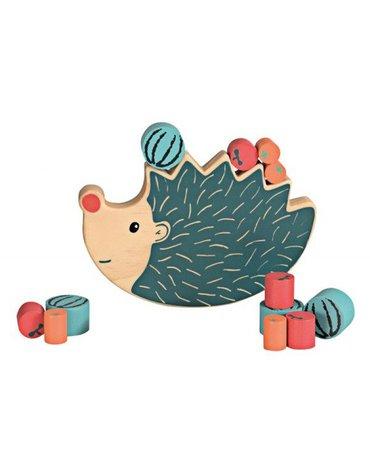 Zabawka balansująca, drewniany jeżyk, równoważnia   Egmont Toys®