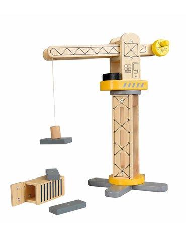 Egmont Toys® - EGMONT TOYS Drewniany DŹWIG