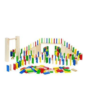 Drewniane domino Rally | Egmont Toys®