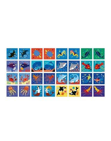 Memo dla dzieci, Morskie Zwierzęta | Londji®