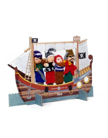 Pacynki na palce, Piraci | Londji®