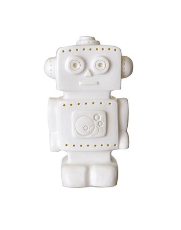 Lampka nocna LED, Robot, biała | Egmont Toys®