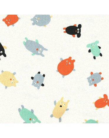 Mały portfelik, portmonetka, seria Doudous, Puchaci Przyjaciele | Maison Petit Jour®