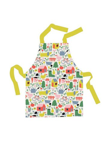 Fartuszek kuchenny dla dzieci, wodoodporny, seria Wiejska Sielanka | Maison Petit Jour®